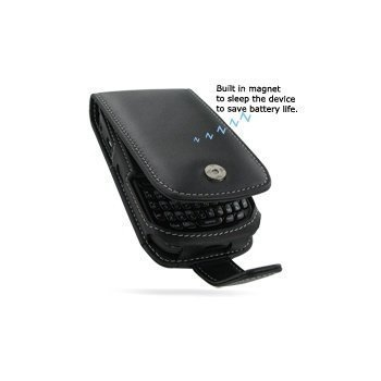 BlackBerry Curve 8520 PDair Leather Case 3BBB52F41 Musta