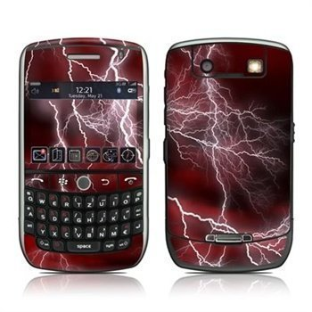 BlackBerry Curve 8900 Apocalypse Skin Red