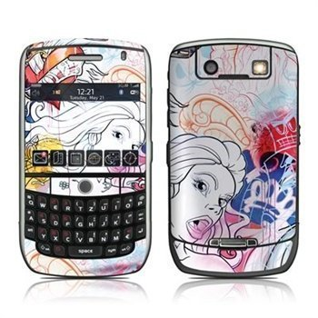 BlackBerry Curve 8900 Big Bad Wolf Skin