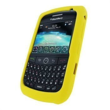 BlackBerry Curve 8900 Silicone Case Yellow