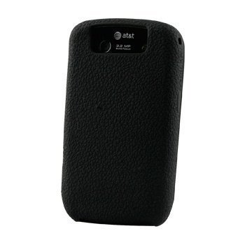 BlackBerry Curve 8900 Textured Silicone Cover Musta