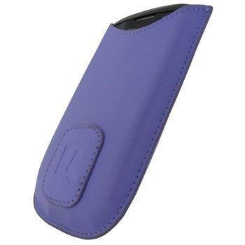 BlackBerry Curve 8900 iGadgitz Nahkakotelo Violetti