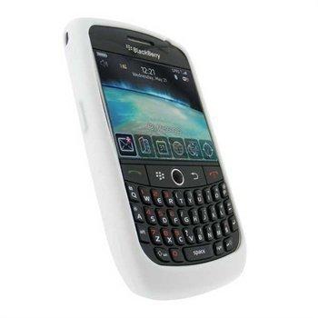 BlackBerry Curve 8900 iGadgitz Silicone Case White
