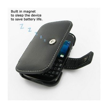 BlackBerry Curve 9220 PDair Leather Case 3BBB92B41 Musta