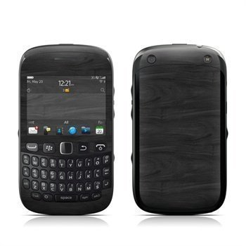 BlackBerry Curve 9320 Black Woodgrain Skin