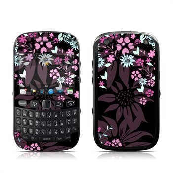 BlackBerry Curve 9320 Dark Flowers Skin