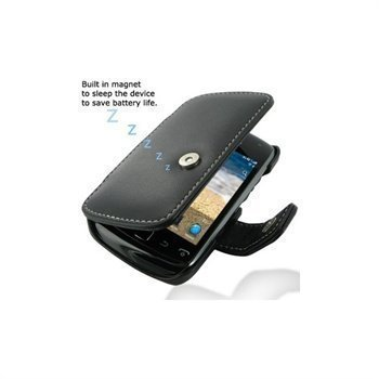 BlackBerry Curve 9380 PDair Leather Case 3BBBU9B41 Musta