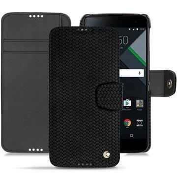 BlackBerry DTEK60 Noreve Tradition B Wallet Case Abaca Musta
