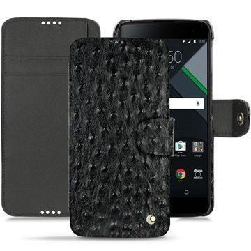 BlackBerry DTEK60 Noreve Tradition B Wallet Case Autruche Musta