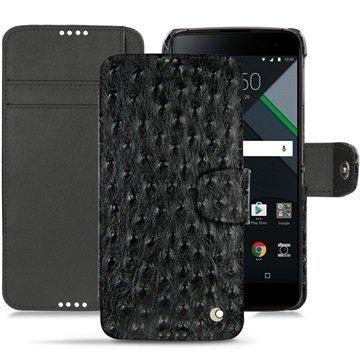 BlackBerry DTEK60 Noreve Tradition B Wallet Case Autruche Musta