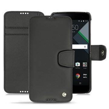 BlackBerry DTEK60 Noreve Tradition B Wallet Case Musta