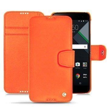 BlackBerry DTEK60 Noreve Tradition B Wallet Case Oranssi
