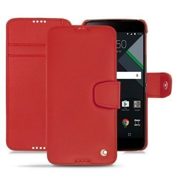 BlackBerry DTEK60 Noreve Tradition B Wallet Case Punainen