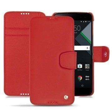 BlackBerry DTEK60 Noreve Tradition B Wallet Case Punainen