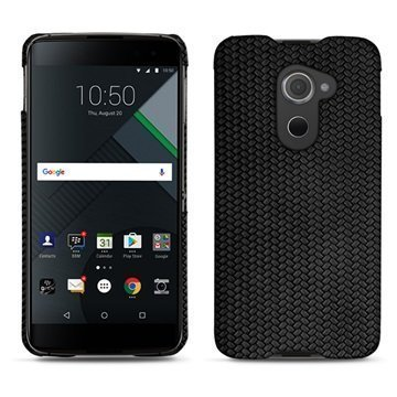BlackBerry DTEK60 Noreve Tradition E Cover Abaca Black