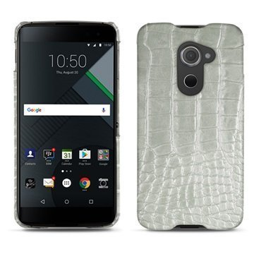 BlackBerry DTEK60 Noreve Tradition E Cover Crocodile Maidonvalkoinen