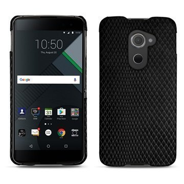 BlackBerry DTEK60 Noreve Tradition E Cover Serpent Black