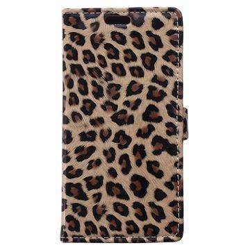 BlackBerry Leap Lompakkokotelo Leopardi