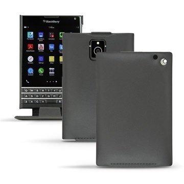 BlackBerry Passport Noreve Tradition Avattava Nahkakotelo Perpétuelle Musta