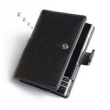 BlackBerry Passport PDair Leather Case 3BBBPTB41 Musta