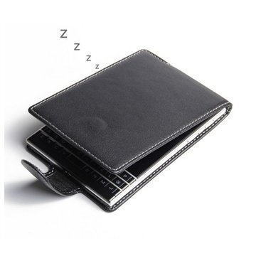 BlackBerry Passport PDair Leather Case NP3BBBPTF41 Musta