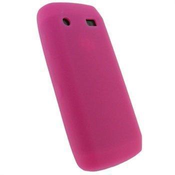 BlackBerry Pearl 3G 9100 iGadgitz Silikonikotelo Pinkki