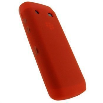 BlackBerry Pearl 3G 9100 iGadgitz TPU-Suojakotelo Punainen