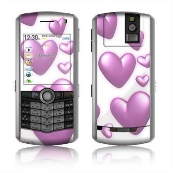 BlackBerry Pearl 8110 Skin Hearts