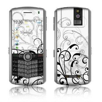 BlackBerry Pearl 8110 Skin W&B Fleur