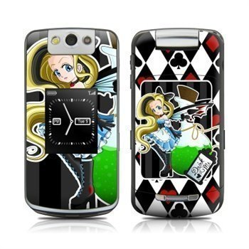 BlackBerry Pearl Flip 8220 Alice Skin