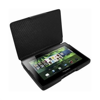 BlackBerry PlayBook Piel Frama iMAGNUM Nahkakotelo Musta