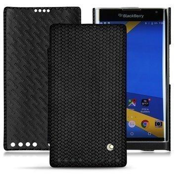 BlackBerry Priv Noreve Tradition D Nahkainen Läppäkotelo Horizon Abaca Musta