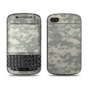 BlackBerry Q10 ACU Camo Skin