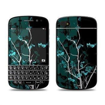BlackBerry Q10 Aqua Tranquility Skin