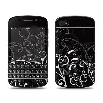 BlackBerry Q10 B&W Fleur Skin