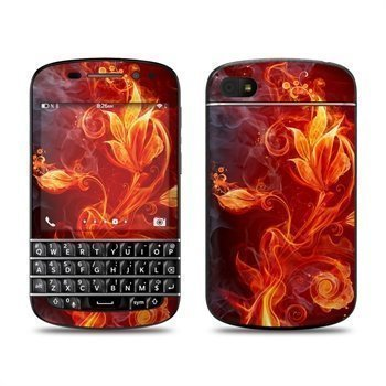BlackBerry Q10 Flower Of Fire Skin