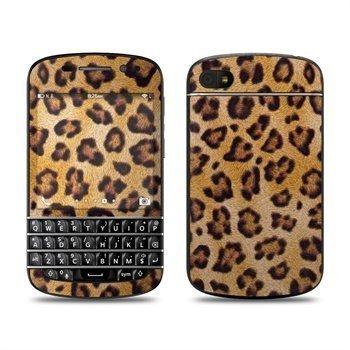 BlackBerry Q10 Leopard Spots Skin