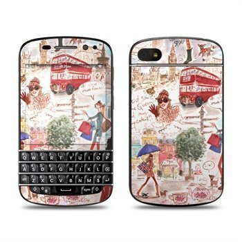 BlackBerry Q10 London Skin