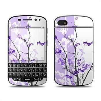 BlackBerry Q10 Violet Tranquility Skin