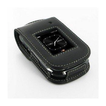 BlackBerry Style 9670 PDair Nahkakotelo Musta