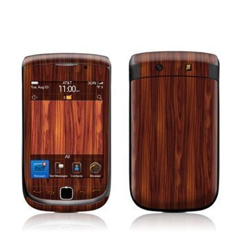 BlackBerry Torch 9800 Dark Rosewood Skin