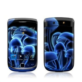 BlackBerry Torch 9800 Fluorescence Blue Skin
