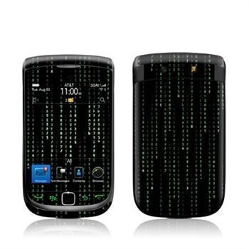 BlackBerry Torch 9800 Matrix Style Code Skin