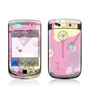 BlackBerry Torch 9800 Pink Candy Skin