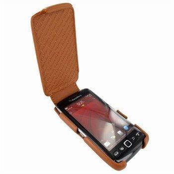 BlackBerry Torch 9850 Torch 9860 Piel Frama iMagnum Nahkakotelo Parkittunahka