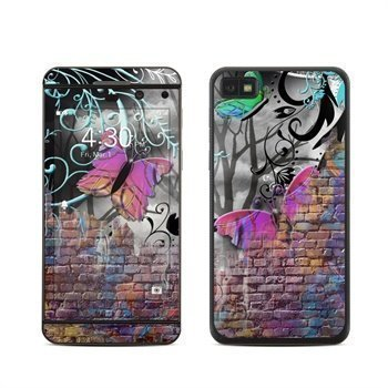 BlackBerry Z10 Butterfly Wall Skin