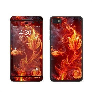 BlackBerry Z10 Flower Of Fire Skin