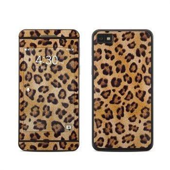 BlackBerry Z10 Leopard Spots Skin