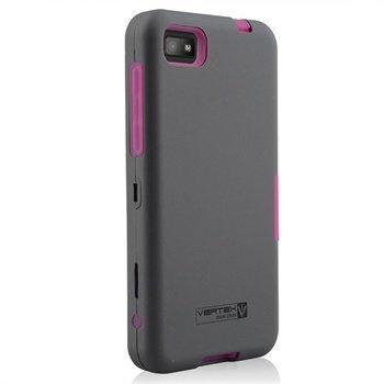 BlackBerry Z10 Naztech Vertex 3-kerroksinen Kotelo Vaaleanpunainen