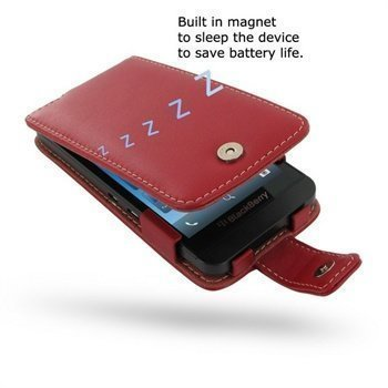 BlackBerry Z10 PDair Leather Case 3RBBYZF41 Punainen